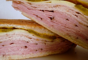 Cuban Sandwich La Prensa Latin Grill