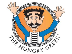 The Hungry Greek Restaurant Franchsie Beast Logo