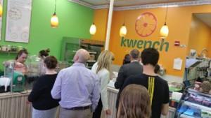 fruit juice cafe franchise beast kwench